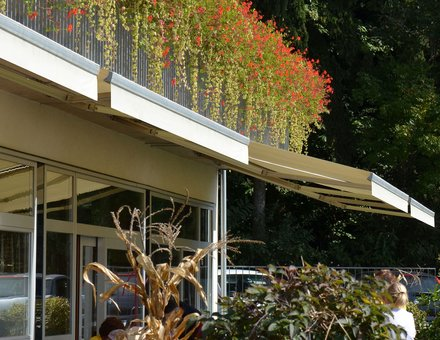 Open awnings