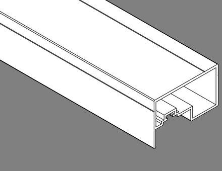 Copertura della scanalatura per il telaio di montaggio con protezione dagli insetti IS