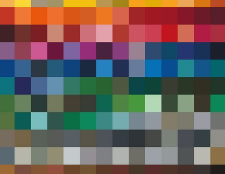 RAL color selection