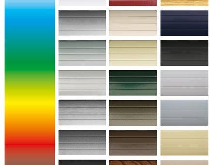 Rollladen Panzer-Farben